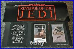 Revenge of the Jedi Star Wars Original Movie Poster Insert Hollywood Posters