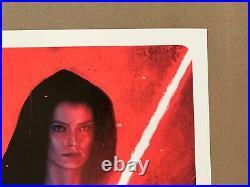 Rory Kurtz DARK SIDE REY Star Wars Rise of Skywalker Poster Print Bottleneck