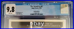 SCUMBAG #1 1100 Gold Foil Opena CGC 9.8 Star Wars Movie Poster Homage Cover