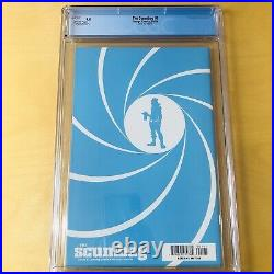 SCUMBAG #1 150 Silver Foil Opena CGC 9.8 Star Wars Movie Poster Homage Cover