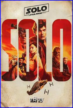SOLO A STAR WARS STORY Original DS 27x40 Movie Poster CHARACTER SET of 5 Lando