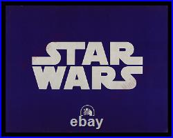 STAR WARS 1977 1st ROADSHOW RELEASE! 11x14 TITLE LOBBY CARD MOVIE POSTER