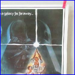 STAR WARS 1977' English dubbed Ver. Original Movie Poster Japanese B2