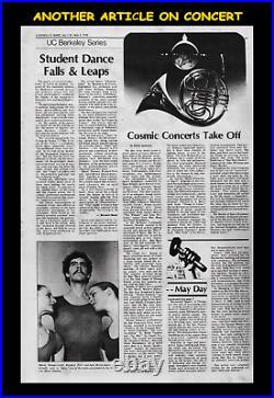 STAR WARS 1978 RALPH McQUARRIE 1st RAREST JOHN WILLIAMS CONCERT MOVIE POSTER