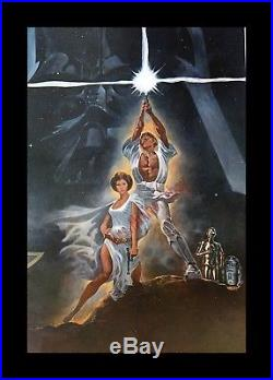 STAR WARS 20th Century-Fox Style A 27x41 Movie Poster 1977 MINT ROLLED MUST