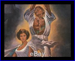 STAR WARS C10 MINT/ROLLED MOVIE POSTER 1st ISSUE AS AUTHENTICATED BY LUCASFILM