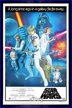 STAR WARS CineMasterpieces AUSTRALIA ORIGINAL MOVIE POSTER 1977 UNUSED ROLLED
