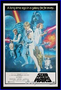 STAR WARS CineMasterpieces ORIGINAL RARE STYLE C AUSTRALIAN MOVIE POSTER 1977