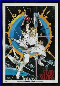 STAR WARS CineMasterpieces RARE CHAYKIN MOVIE POSTER #1 1976 LIPPINCOTT ESTATE
