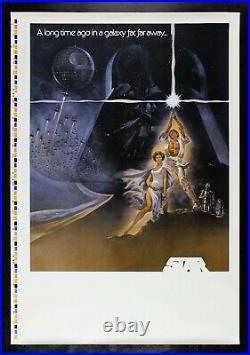 STAR WARS CineMasterpieces RARE PROGRESSIVE PRINTER'S PROOF MOVIE POSTER 1977