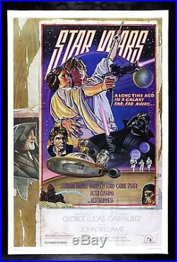 STAR WARS CineMasterpieces RARE ROLLED PRINTER'S PROOF STYLE D MOVIE POSTER 1977
