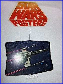 STAR WARS Coca-Cola BURGER CHEF 1978 Set of 3 MOVIE POSTER STORE DISPLAY MOBILES