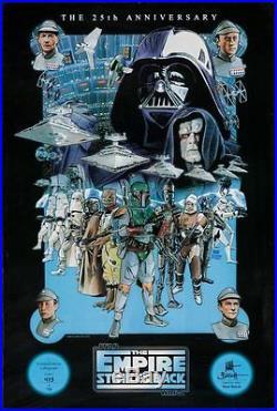 STAR WARS EMPIRE STRIKES BACK movie poster R2005 MATT BUSCH Art 27x40 Limited