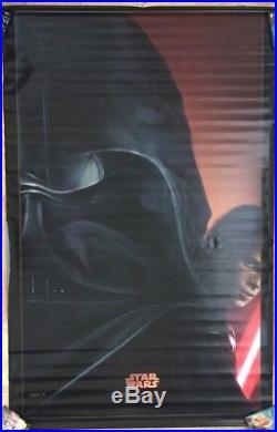 STAR WARS EPISODE III MOVIE POSTER BANNER HUGE ORIGINAL VERY RARE 60x96
