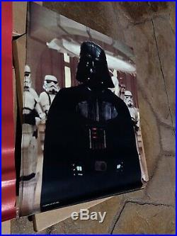STAR WARS ESB P&G MOVIE POSTER offer STORE DISPLAY With Over 100+ POSTERS