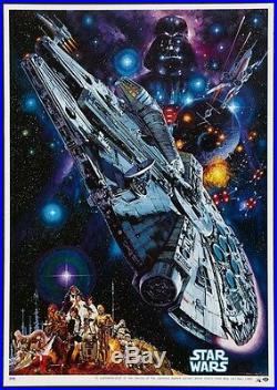 STAR WARS Japanese B2 movie poster NORIYOSHI OHRAI Art R82 NM