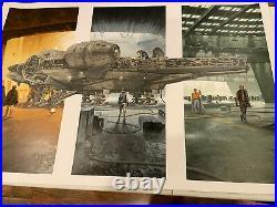 STAR WARS MILENNIUM FLACON POSTER Print by MARK ENGLERT NOT MONDO