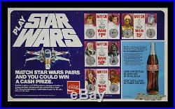 STAR WARS MOVIE POSTER COOL Coca-Cola CANADIAN Character CAP CASH $ CONTEST