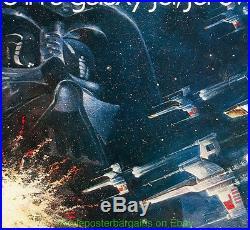 STAR WARS MOVIE POSTER Rolled 1977 Half Sheet Size 22x28 Inch Fine Condition