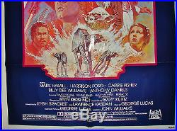 STAR WARS MOVIE POSTER THE EMPIRE STRIKES BACK R820180 27x41 NEW 1982 ReRelease