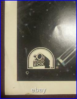 STAR WARS Movie Poster Original 20th Century Records Soundtrack Promo 1977