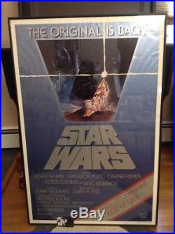 STAR WARS R82Revenge of the JediUS Original 1 Sheet Movie Poster 27x41