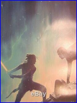 STAR WARS RISE OF SKYWALKER 2019 Original Ver B DS 2 Sided 27x40 US Movie Poster