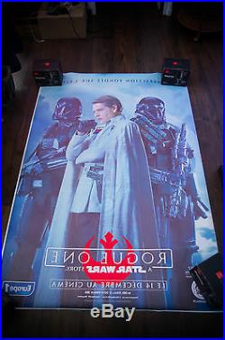 STAR WARS ROGUE ONE D 4x6 ft Bus Shelter Original Movie Poster 2016