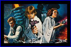 STAR WARS ROLLED NEVER-FOLDED Style C One-Sheet Movie Poster MINT/NearMINT