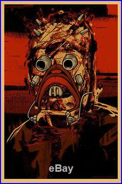 STAR WARS Raider Kinsey Poster Alamo Drafthouse Mondo Tusken print tatooine sand