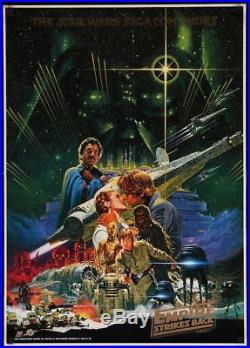STAR WARS THE EMPIRE STRIKES BACK Japanese B2 movie poster TOHO OHRAI 20x28 NM