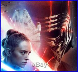 STAR WARS THE RISE OF SKYWALKER MOVIE POSTER 2 Sided ORIGINAL FINAL 27x40