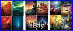 STAR WARS The Force Awakens, Last Jedi, Rise of Skywalker Complete IMAX Set AMC
