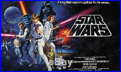STAR WARS WALL MURAL Classic Movie Poster Prepasted Wallpaper 10.5' W x 6' H