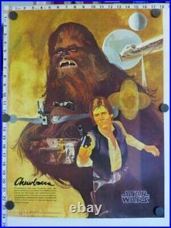 Set of 3 Original STAR WARS Posters BURGER KING COCA-COLA (1977) NEAR MINT