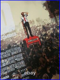 Shaun of the Dead Jock Screen Printed Movie Poster Mondo Edgar Wright print
