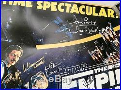 Signed Star Wars Trilogy Poster REAL