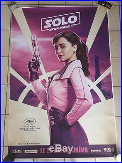 Solo A Star Wars Story Set of 6 Movie Poster 4x6' Festival De Cannes Exclusive