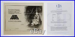 Star Wars 1977 20th Century Fox Movie Poster Proof Alternate Hildebrandt Design