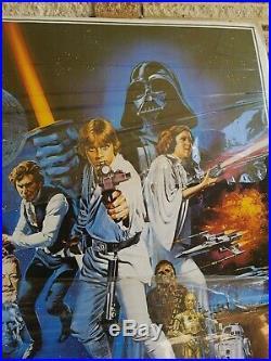 Star Wars 1977 Original Movie Poster PTW-531 in Its Original State