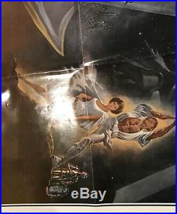 Star Wars. 1977. Original US One Sheet 41x27 Movie Poster 77/21/0 First Printing