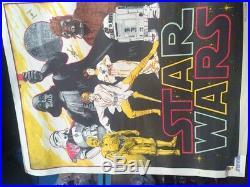 Star Wars 1977 harley copic original Vintage rare Posters x2