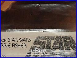 Star Wars 1982 Soundtrack Poster Rolled Vintage/Original 20 x 28 Never Hung