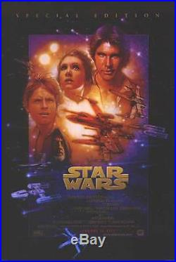 Star Wars 1997 Special Edition Movie Poster Double Sided Original 27x40