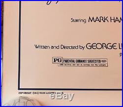 Star Wars A New Hope 1993 Original Movie Poster Greg & Tim Hildebrandt Signed