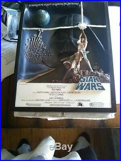 Star Wars A New Hope Code 3 3D Sculpture Movie Poster READ HTF SOLD OUT 272/1000