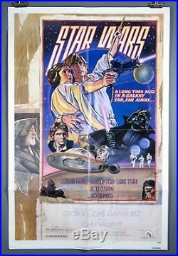 Star Wars, A New Hope, Original 1978 Poster 27x41 D