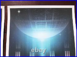 Star Wars Andy Fairhurst Perspective #3 SET movie posters Padme Amidala Leia Rey