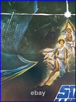 Star Wars Australian original 1977 One Sheet movie poster RARE UNFOLDED