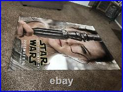 Star Wars Awakens Theater Banner 5 X 7 Ft Rey